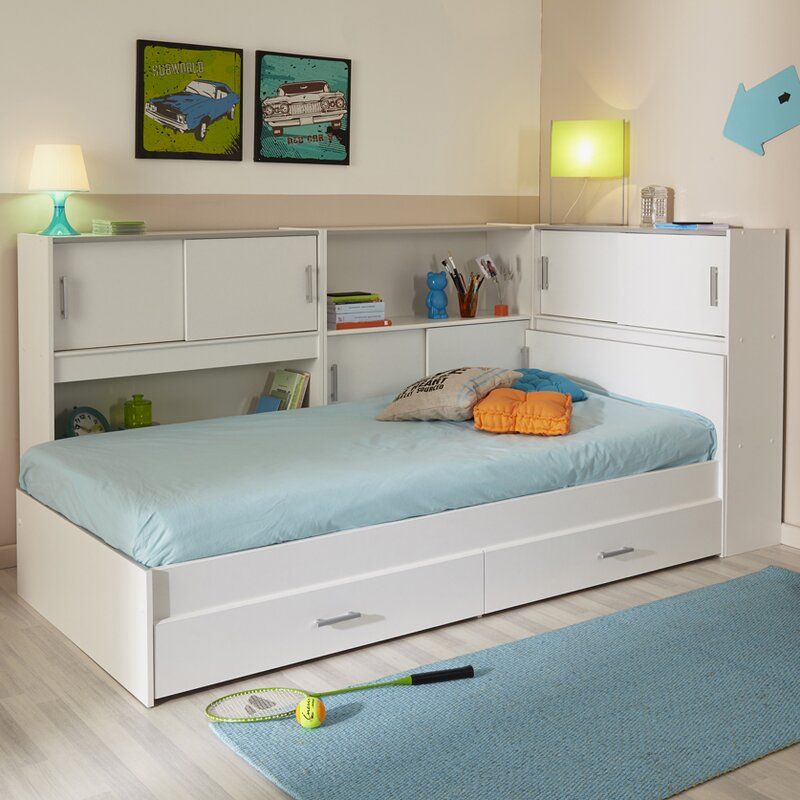 Twin Bed Frame.Snoop Twin Bed With Storage
