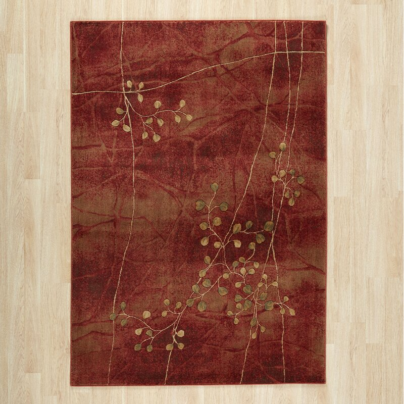 World Menagerie Consolata Crimson Flame Redarea Rug