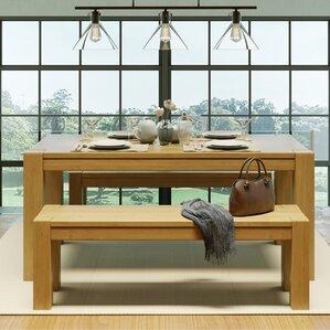 Kubo Wood Bench by Artefama