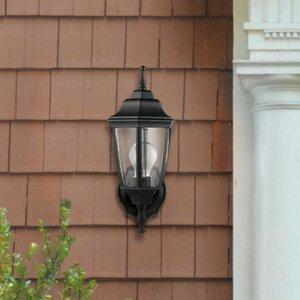 Oxford 1-Light Outdoor Upward Wall Lantern (Set of 2)