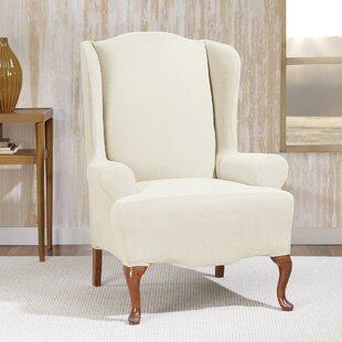 Charmant Wing Chair Slipcovers Youu0027ll Love | Wayfair