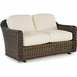 South Hampton Double Glider Bench With Cushions