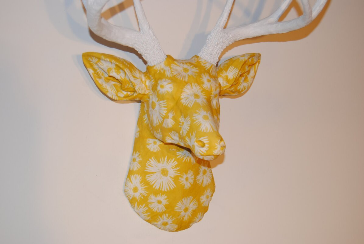 Nice Stag Head Wall Decoration Contemporary - The Wall Art ...