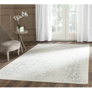 reynolds ivorysilver area rug