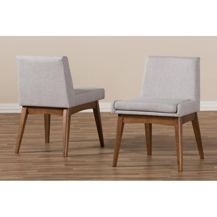 Brayden Studio Stallman Mid Century Modern Upholstered Dining Chair