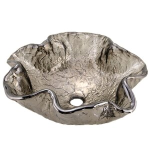 Alina Art Specialty Glass Specialty Vessel Bathroom Sink