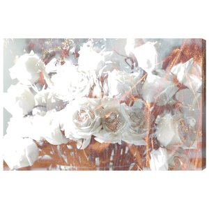 'Rose Gold Feast' Graphic Art on Wrapped Canvas