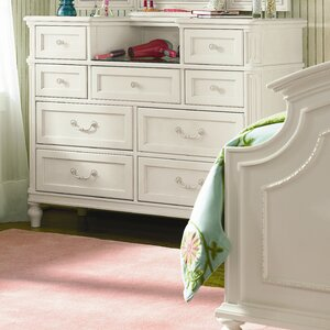 Chassidy 9 Drawer Double Dresser with Mirror