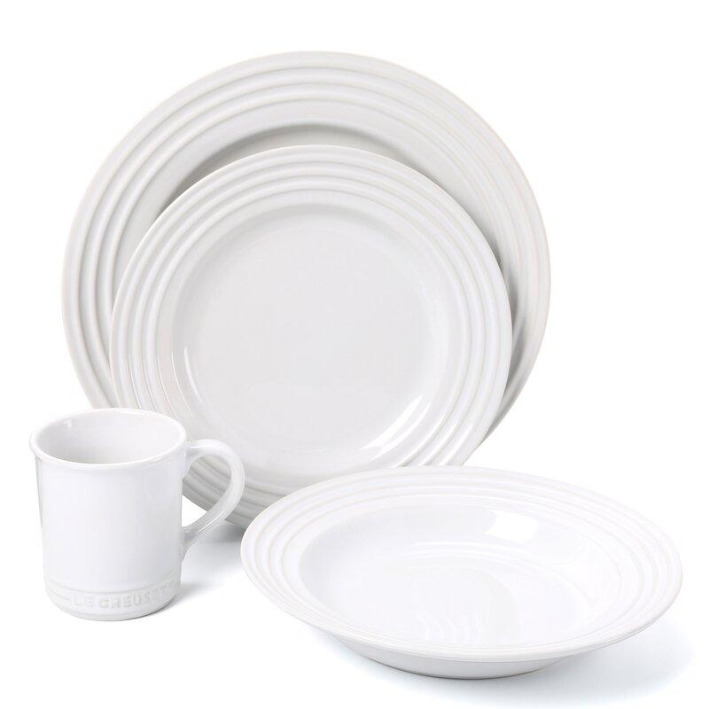 le creuset stoneware 16 piece dinnerware set service for 4  sc 1 st  qpkuhome.tk & Stoneware Dish Set Reviews. best dinnerware sets best dinner plates ...