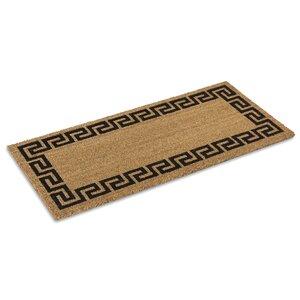 Greek Key Doormat
