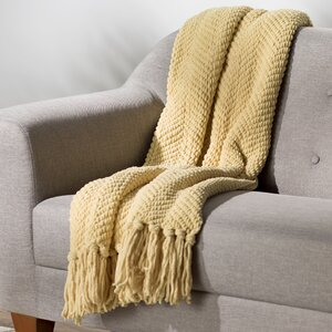 Nader Tweed Knitted Throw Blanket