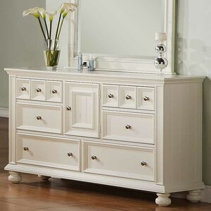 Miami Springs 6 Drawer Standard Dresser by Beachcrest Home