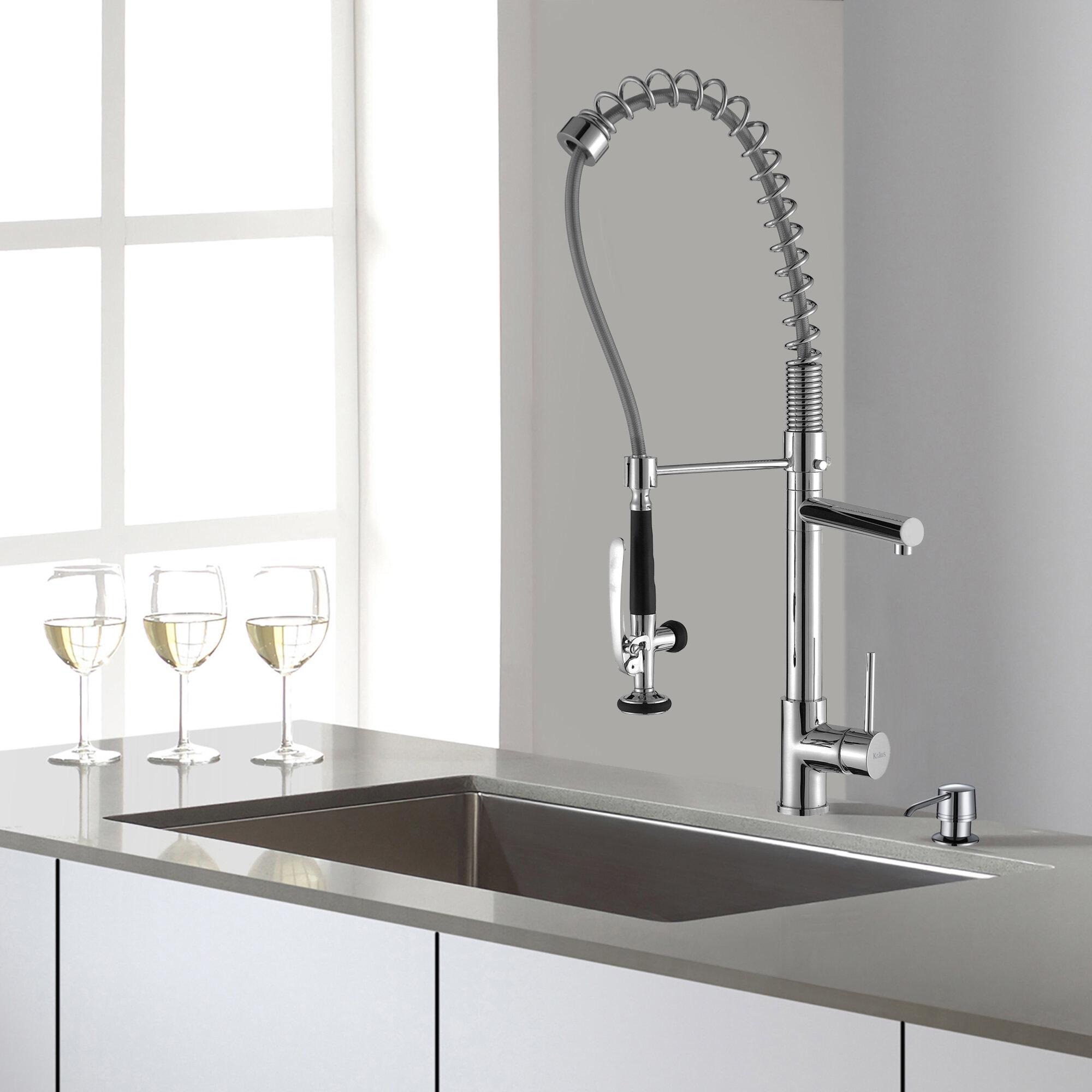 kraususa inspiration faucet combokraus combo sink combos kraus and kitchen
