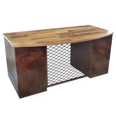 Solid Oak Roll Top Desk Wayfair