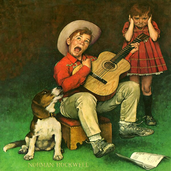 East Urban Home The Music Man By Norman Rockwell