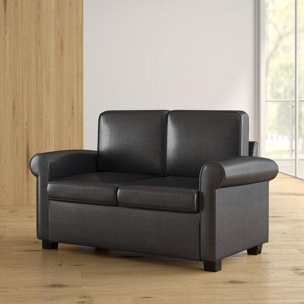 Ebern Designs Ahumada Twin Sleeper Sofa Bed Loveseat U0026 Reviews | Wayfair