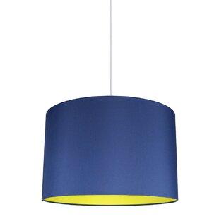 Navy blue pendant light wayfair save aloadofball Choice Image