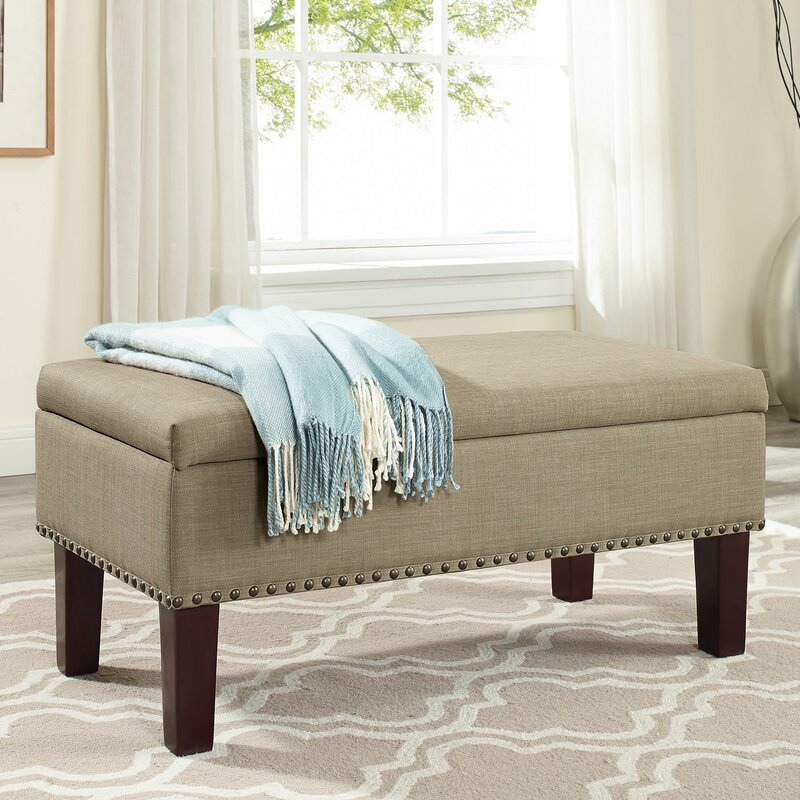 Darby Home Co Beames Storage Ottoman & Reviews | Wayfair