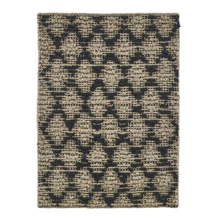 Black Natural Area Rug By House Doctor