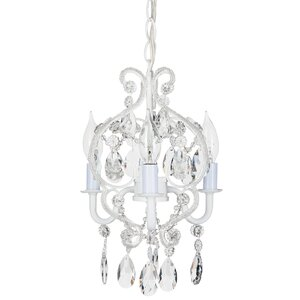 Alida 3-Light Crystal Chandelier