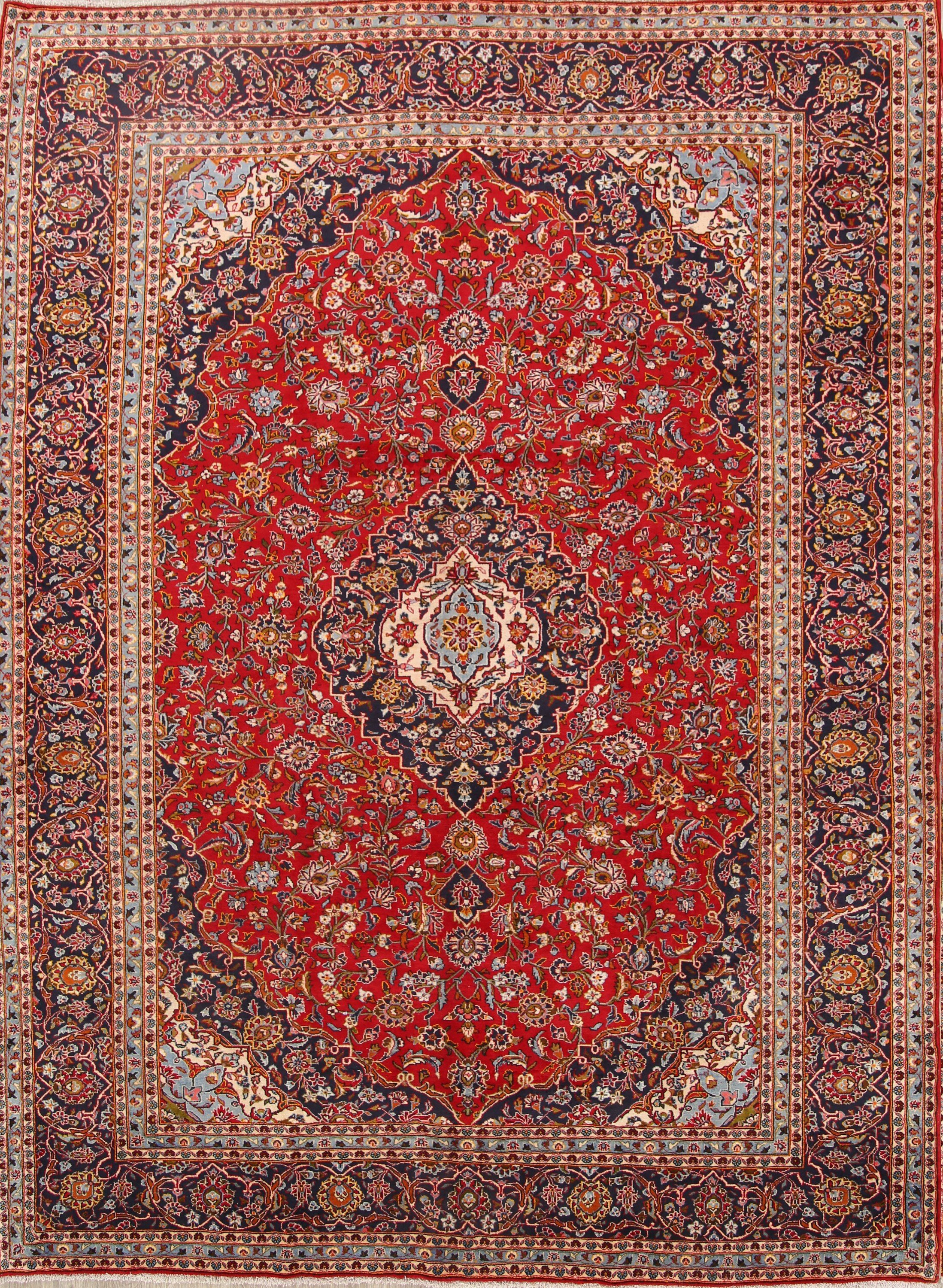 Isabelline One Of A Kind Shick Kashan Persian Hand Knotted