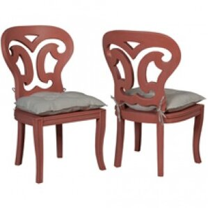 Britta Manor Solid Wood Dining Chair (Set of 2) by Astoria Grand