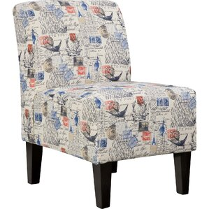 Astoria Slipper Chair in Beige by Simmons Up..