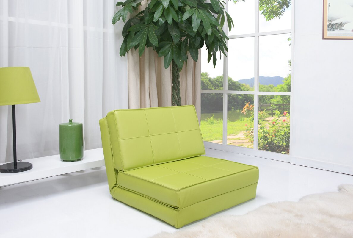 Wrought Studio Onderdonk Convertible Chair Bed Amp Reviews Wayfair Ca