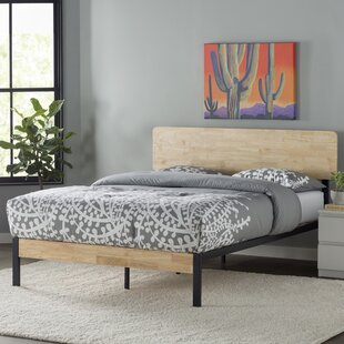 Ursula Metal Wood Platform Bed