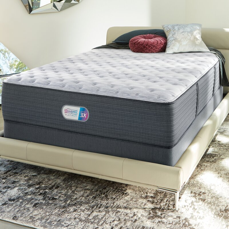 Beautyrest Platinum 14 Extra Firm Innerspring Mattress And Box Spring