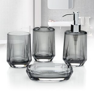 Grey Bathroom Accessories Youll Love Wayfair