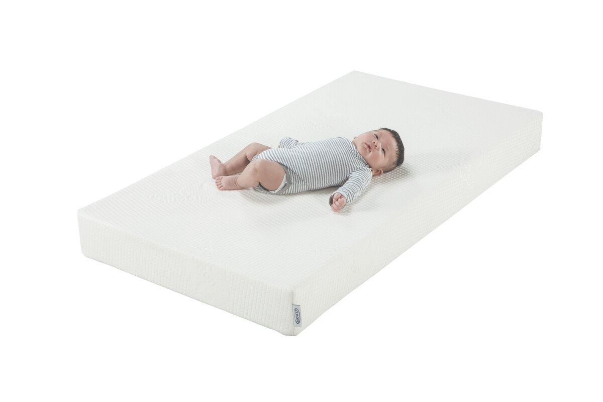 Natural Organic Foam 5 Crib And Toddler Mattress Crib