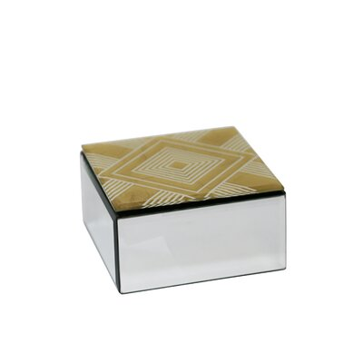 Freitag Wood/Glass Decorative Box Bloomsbury Market Customize: Small Diamond