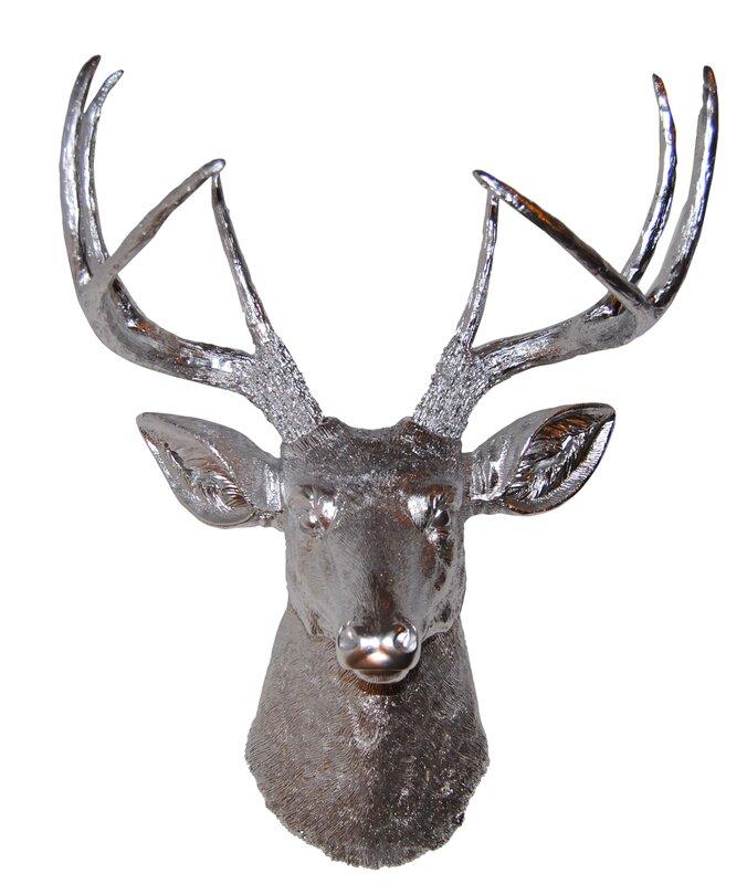 Faux Taxidermy Deer Head Wall Décor & Reviews | AllModern
