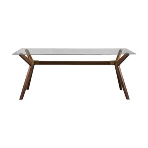 Charming Nicholas Glass Dining Table