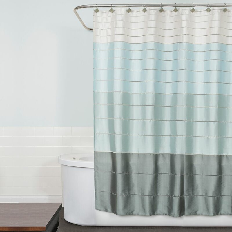 Modena Stripe Shower Curtain