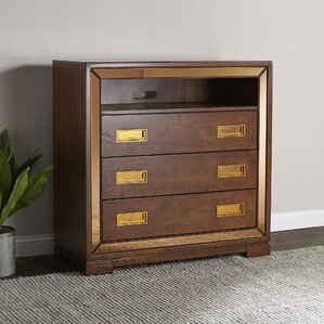 Frederic 3 Drawer Media Chest by Willa Arlo Interiors