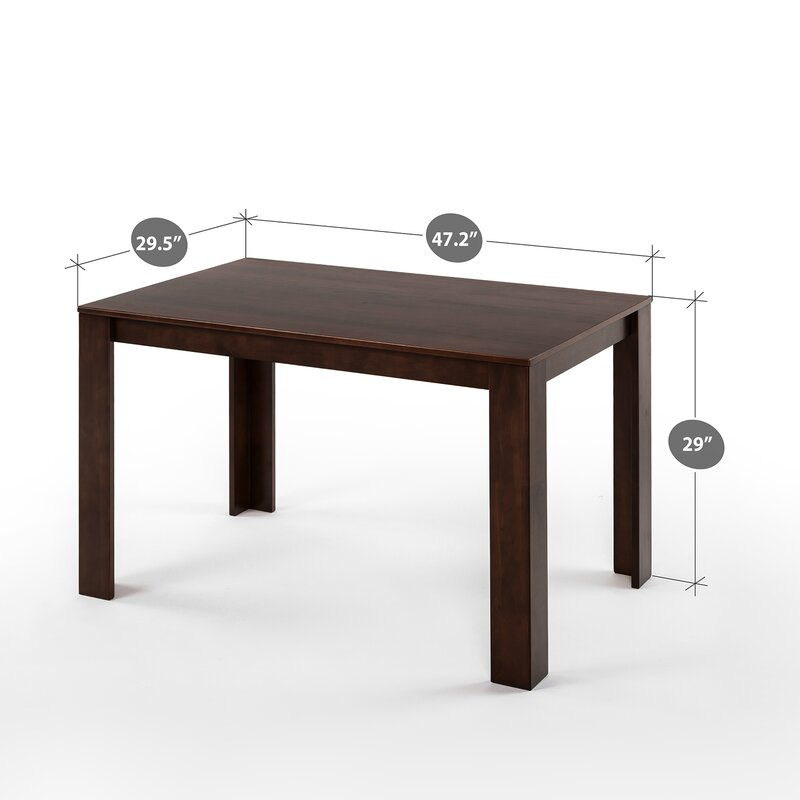 Grigor Mission Style Wood Dining Table