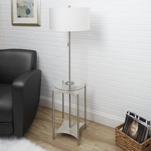 Charmant Floor Lamp Table Combo | Wayfair