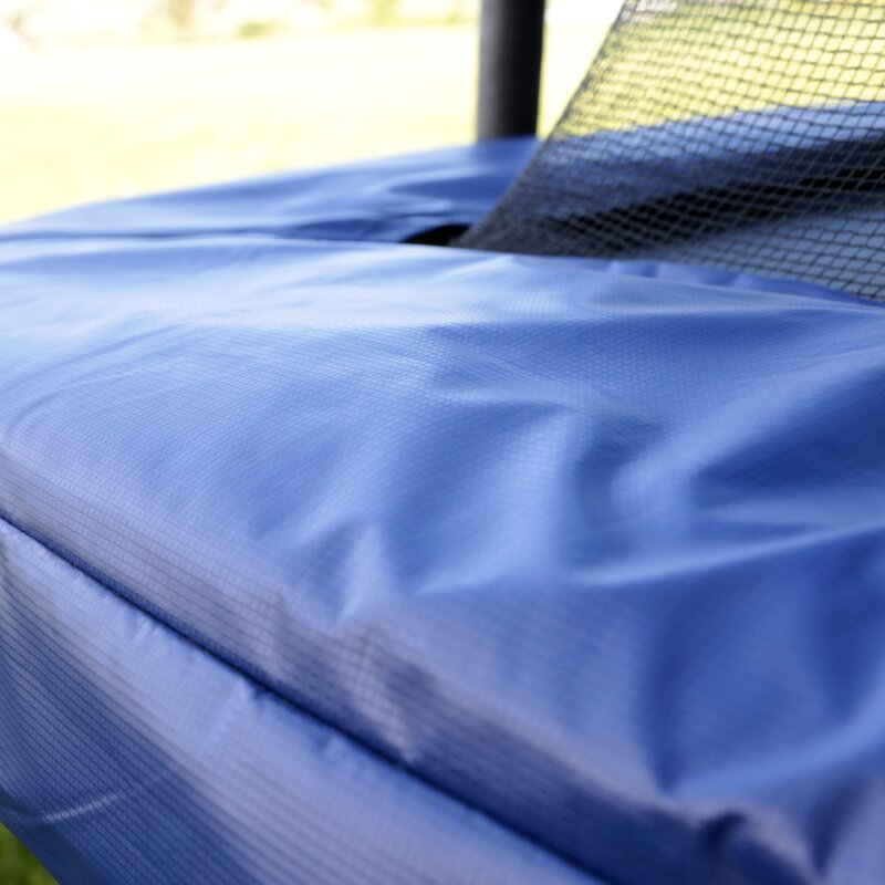 Rectangular Trampolines Offer The Safest Most Stable Bounce: Skywalker 15' Rectangular Trampoline With Safety Enclosure