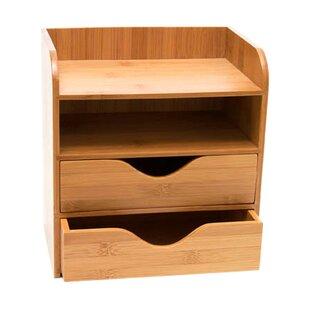 Bamboo  Tier Desk Organizer