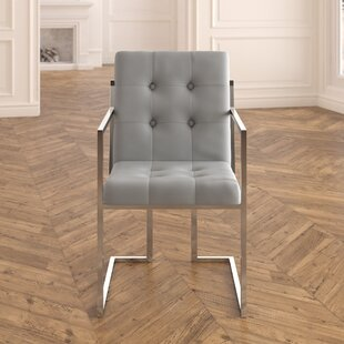 Bellamy Chrome Arm chair (Set of 2)