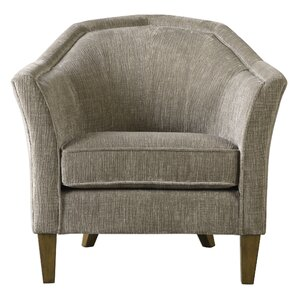Lakewood Fabric Barrel Chair by Gracie Oaks