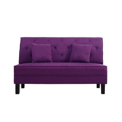 Dark Purple Sofa Wayfair