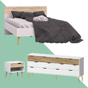 Mateer Queen Platform Configurable Bedroom Set