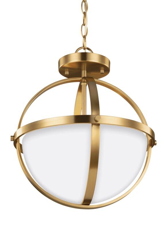 default_name - Wade Logan Haworth 2-Light Globe Pendant & Reviews Wayfair