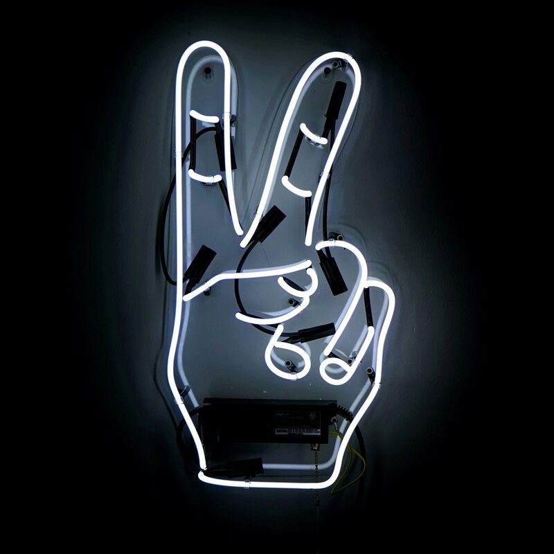 Neon Signs For Sale >> Peace Themed Sign