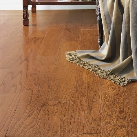 Turlington 3  Engineered Oak Hardwood Flooring in Low Glossy Gunstock. Engineered Hardwood Flooring You ll Love   Wayfair