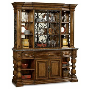 Chesley Lighted China Cabinet by Astoria Grand