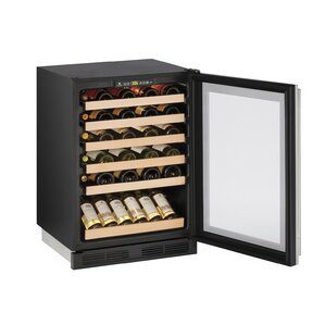 42 Bottle 1000 Series Single Zone Built-in Wine Cellar by U-Line